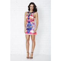 COOPER ST - Electra Reflection Panel Dress (11CS8733 - Multi size 6)