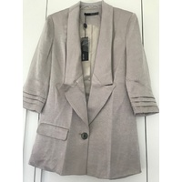 SEDUCE - Rhythm Of The Night Jacket (126SW5445 - Oyster size 8)