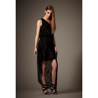 WAYNE COOPER - Tail Back Dress (13021 - Black size 6)