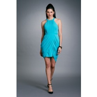 SEDUCE - Memoir Dress (131SW4249 - Blue Jewel, Vanilla White)