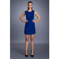 SEDUCE - Flashback Dress (134SW4233 - Imperial Blue size 8)