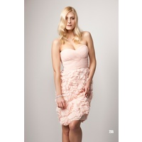 ROSE NOIR #235 - Frill Dress (Peach)