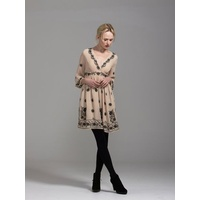 FATE - Ladies Of Leisure Dress (3438DWFA - Vintage/Beige size 8)