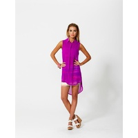 SASS - Faithless Sleeveless Shirt (4276TWSS - Ultra Purple)
