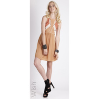 WISH - Accolade Dress (55075.2727 - Paprika/Frost size S/10)