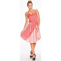 COOPER ST - Salsa Dress (5CS3741 - Coral/Pink size 6)