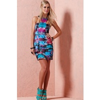 COOPER ST - Futuristic Dress (6CS6555 - Multi size 8)