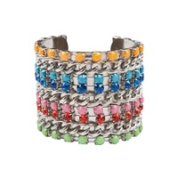 8 OTHER REASONS - Some Like It Hot Cuff (8ORMW01 - Multi/Silver)