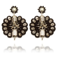 STELLA NEMIRO - Black Margarita Earrings (BE00117N - Black)