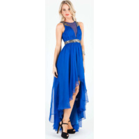 BARIANO - V Front Asymmetric Maxi (BWD06 - Electric Blue size 8)