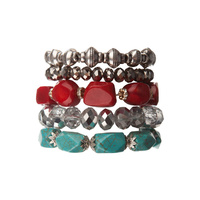 CHRISSY L - Day By Day Bracelet Set (DBD574 - Multi)