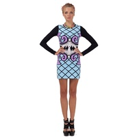 FAIRGROUND - Quick Step Bodycon Dress (FG2477.300 - Tavi Print)