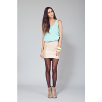 FINDERS KEEPERS - Closing Time Skirt (FX120504SK - Almond)