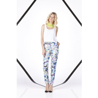 FINDERS KEEPERS - Instinct Blues Pant (FX130516P - Flower Bomb Navy size L)