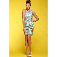 HONEY & BEAU - Floral Delight Dress (HD54001 - Print size 8)