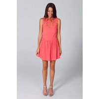 HOUSE OF WILDE - Camellia Dress (HOW2143.210 - Coral)