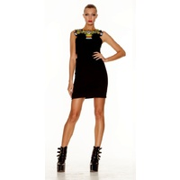 HOUSE OF WILDE - All My Loving Dress (HOWLO2048.100 - Black size XS)