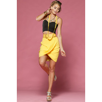 HONEY & BEAU - Drape Skirt *Clearance*