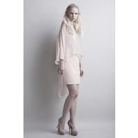JUSTINE DAVIS - Toxis Top (JD134- Nude size 6)
