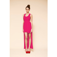 KEEPSAKE - Moonlight Dancer Dress (KD120324D - Fuchsia size M)