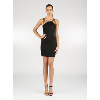 KUKU - Prowl Dress (KU00597 - Black/Multi size 8)