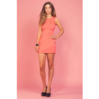 KEEPSAKE - Easy Way Out Dress (KX120718D - Coral size XS)