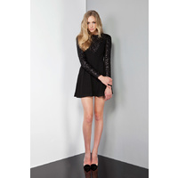 KEEPSAKE - Young Love Dress (KX130319D - Black/Sequin)