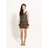 BLESSED ARE THE MEEK - Sparks Fly Dress (PB51077 - Khaki size 8)