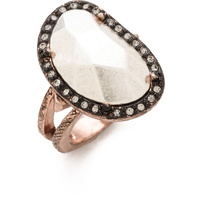 HOUSE OF HARLOW - Vertical Sahara Sand Ring *Clearance*