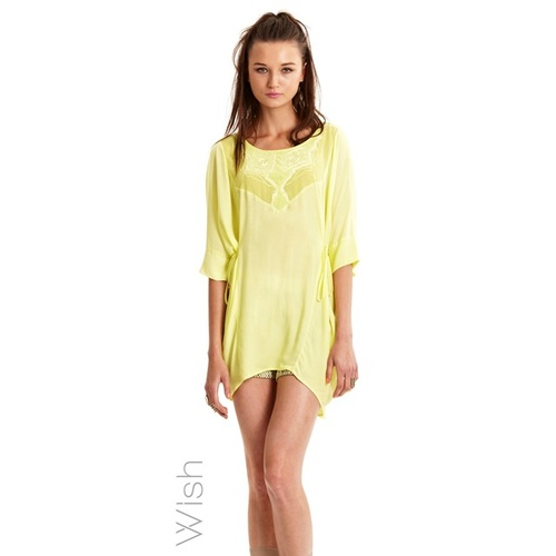 WISH - Mediate Tunic (14676.3358 - Lemon size XXS/6)