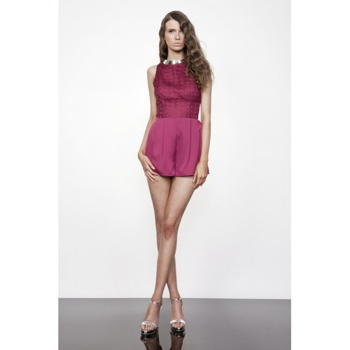 KEEPSAKE - Simple Song Playsuit (KX121218PS - Berry)